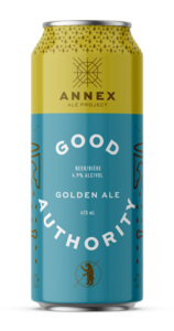 GOOD AUTHORITY - GOLDEN ALE